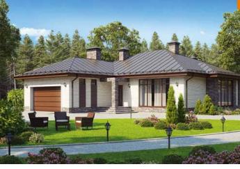 Дом одноэтажный – 206 м2 Стоимость – 3 708 000р.