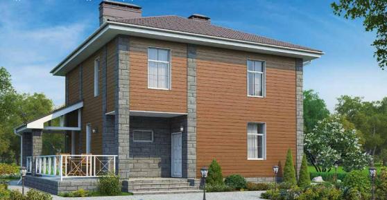 Дом двухэтажный – 148 м2 Стоимость – 2 960 000р.