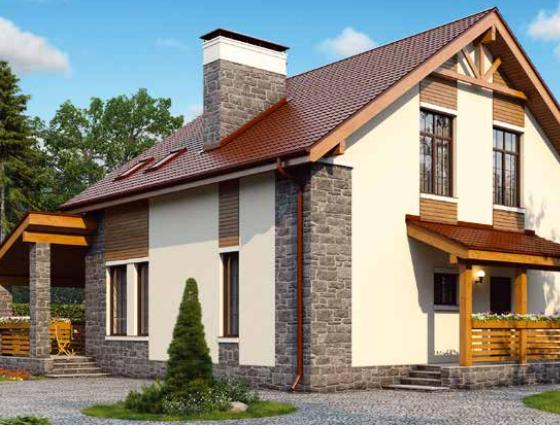 Дом двухэтажный – 171 м2 Стоимость – 3 420 000р.