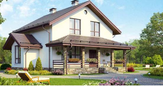 Дом двухэтажный – 154 м2 Стоимость – 3 080 000р.