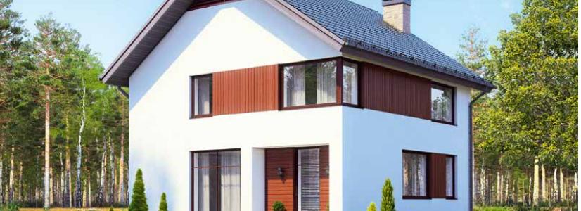 Дом двухэтажный – 113 м2 Стоимость – 2 034 000р.