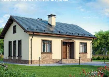 Дом одноэтажный — 84м2 Стоимость – 1 260 000р.