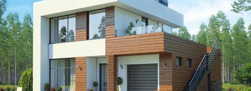 Дом двухэтажный- 128м2 Стоимость – 2 560 000р.
