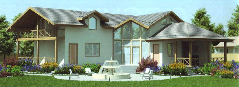 Дом двухэтажный – 271,80 м2/. Стоимость — 5 436 000 р.