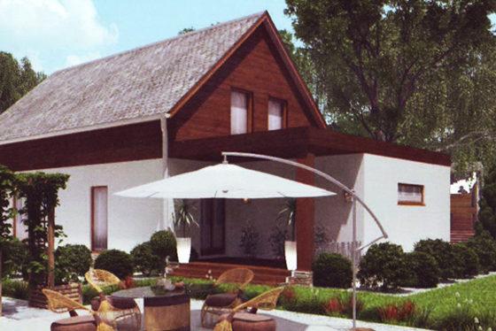 Дом двухэтажный – 166,37 м2. Стоимость – 3 327 400 р.