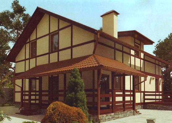Дом двухэтажный – 203,17 м2. Стоимость – 4 063 400 р.