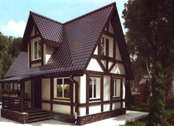 Дом двухэтажный – 75 м2. Стоимость – 1 500 000 р.