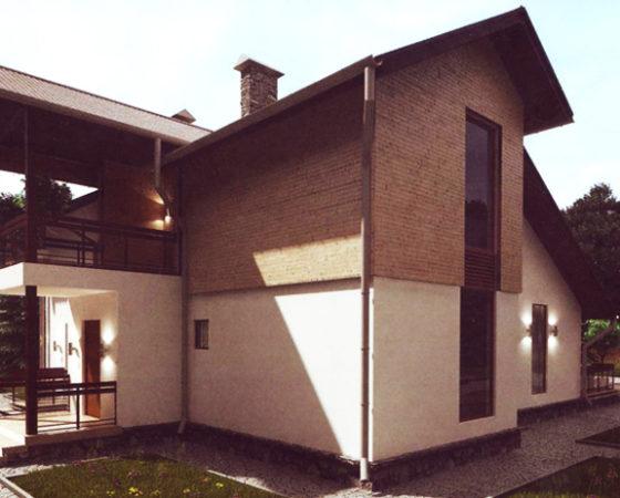 Дом двухэтажный – 175 м2. Стоимость – 3 150 000 р.